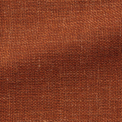 burnt-orange-wool-linen-blend-mesh Fabric