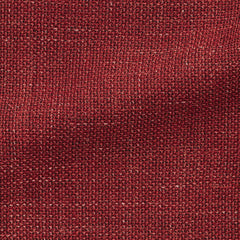 rust-red-wool-linen-blend-mesh-A290gr Fabric