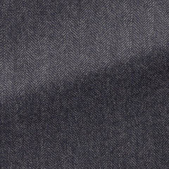 dark-slate-blue-faux-uni-wool-herringbone Fabric