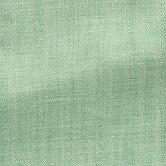 spring-green-white-wool-silk-linen-herringbone Fabric