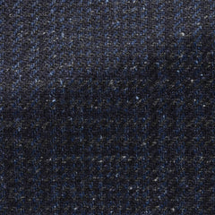 Ferla-mixed-blue-wool-alpaca-silk-with-glencheck-JD320gr Fabric