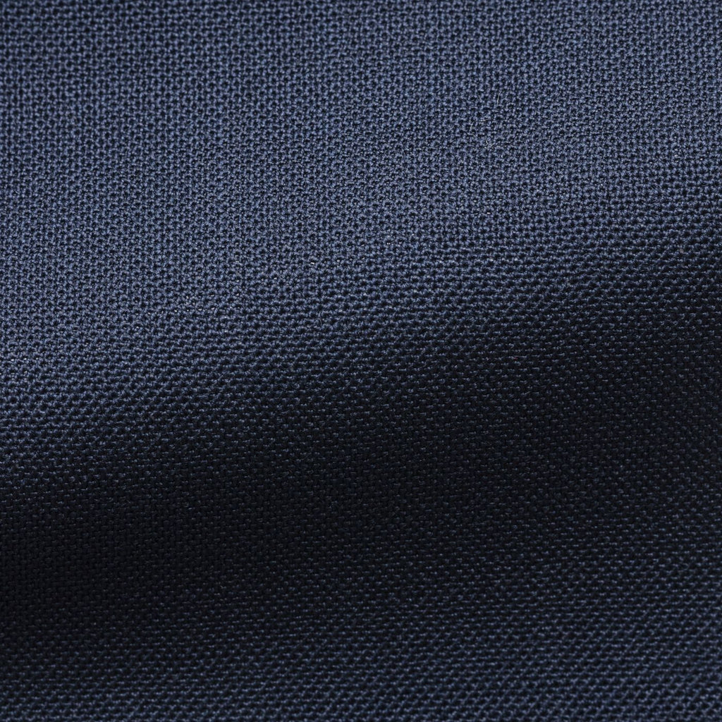 navy wool open weave
