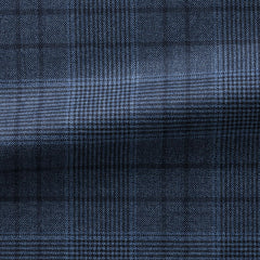 slate-blue-glencheck-with-windowpane-BB270gr Fabric