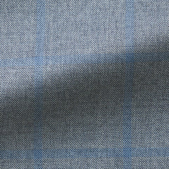 blue-grey-melange-sharkskin-with-light-blue-windowpane-BB270gr Fabric