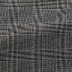 grey-s130-wool-with-light-blue-and-black-glencheck-BB275gr Fabric