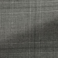 VBC-mid-grey-s130-wool-with-black-glencheck-BB275gr Fabric
