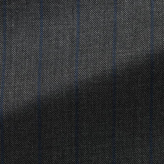 VBC-charcoal-s130-wool-sharkskin-with-navy-stripe-BB275gr Fabric
