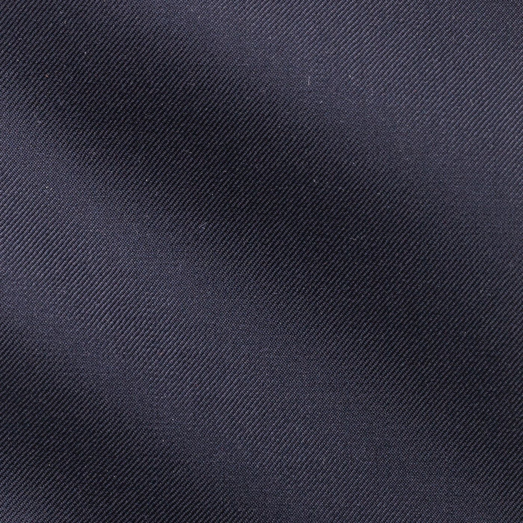 midnight plain blue twill