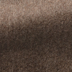 mid-brown-melange-fine-wool Fabric