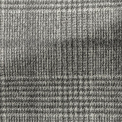 grey speckled brushed wool cashmere glencheck with dark   grey windowpane Inspiration