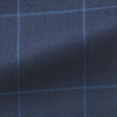 mid-blue-dark-blue-tropical-with-light-blue-windowpane-D200gr Fabric