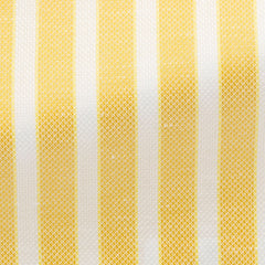 lemon-yellow-cotton-linen-basketweave-with-white-stripes-BB122gr Fabric