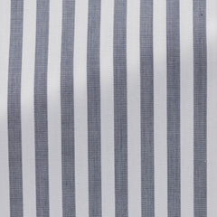 Weba-white-cotton-with-navy-stripe-BB109gr Fabric