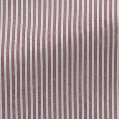 Weba-white-cotton-with-bordeaux-stripes-BB109gr Fabric