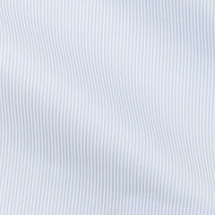 Thomas-Mason-twill-stripe-light-blue-B195gr Fabric