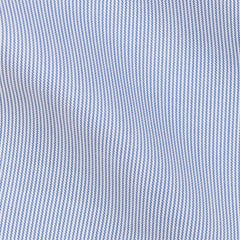 Thomas-Mason-twill-stripe-blue-B195gr Fabric