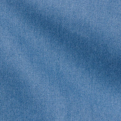 Thomas-Mason-washed-denim-mid-blue-B160gr Fabric