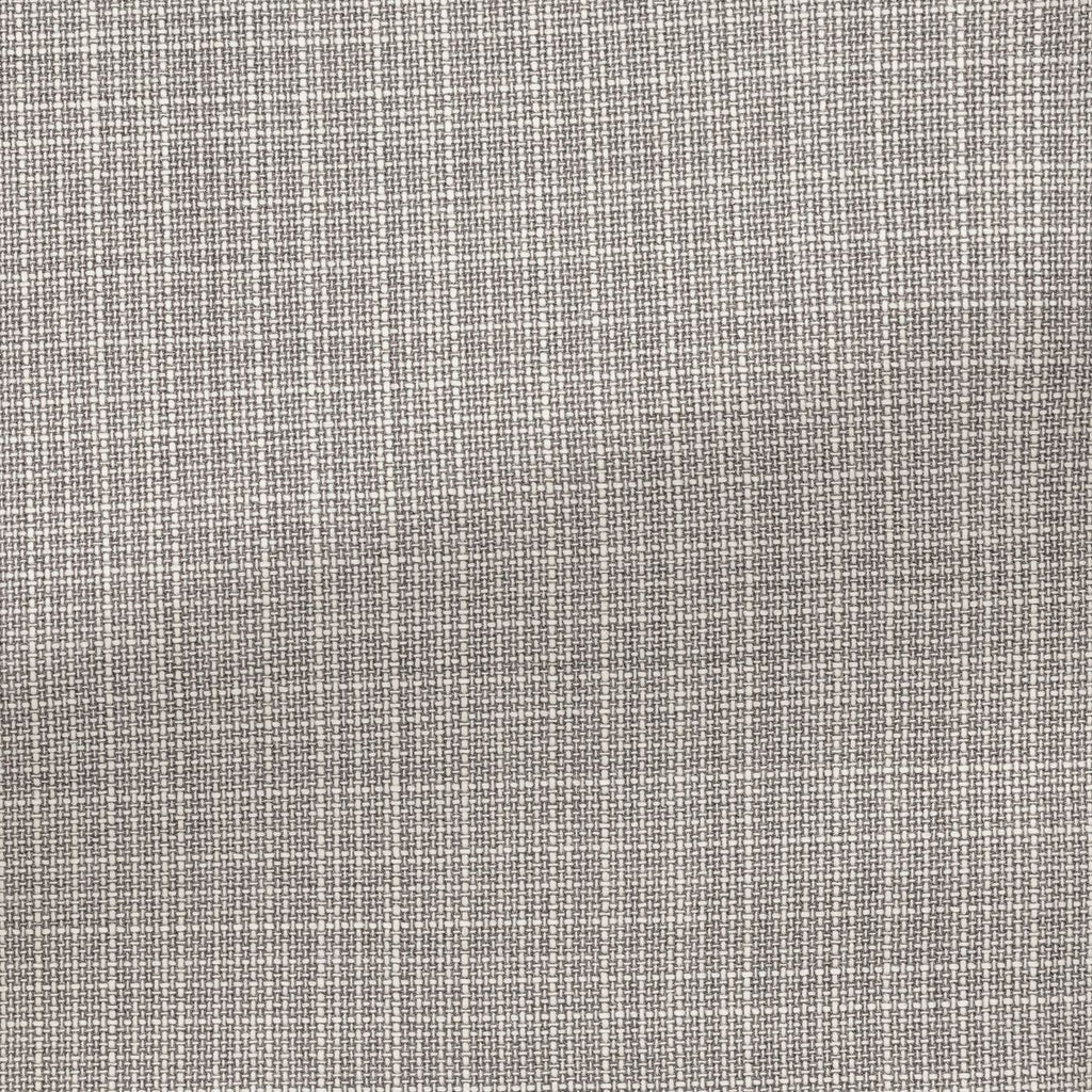 grey white wool fancy weave