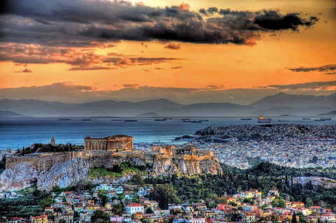 best view of athens greece sunset athens made in greece