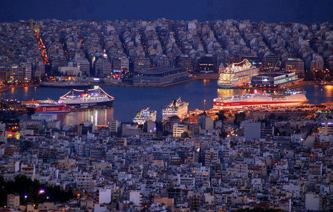 athens by night acropolis view athens greece tour made in greece