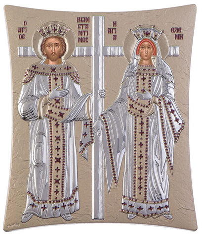 Saint Constantine and Helen, Orthodox icons for sale - Κωνσταντίνος και Ελένη