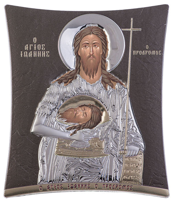 Saint John Orthodox icons online, Grey