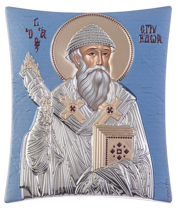 Saint Spyridon, Greek orthodox icons for sale - Ἅγιος Σπυρίδων