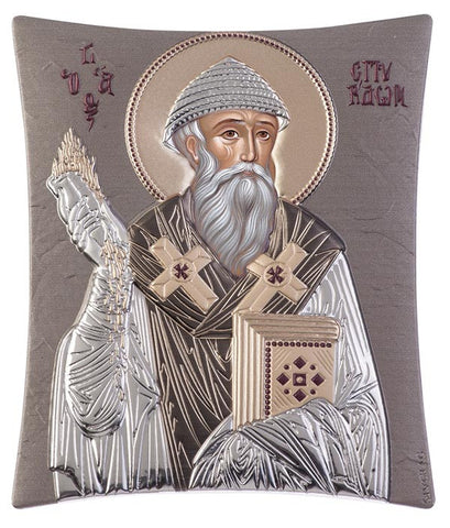 Saint Spyridon, Orthodox Religious iconography  - Ἅγιος Σπυρίδων