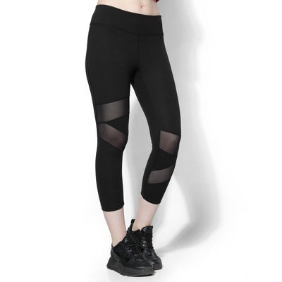 Silvertraq Mesh Cross Tights-Capris-Silvertraq-Silvertraq