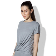 Twisted Tee Grey Melange-T-Shirt-Silvertraq-Silvertraq