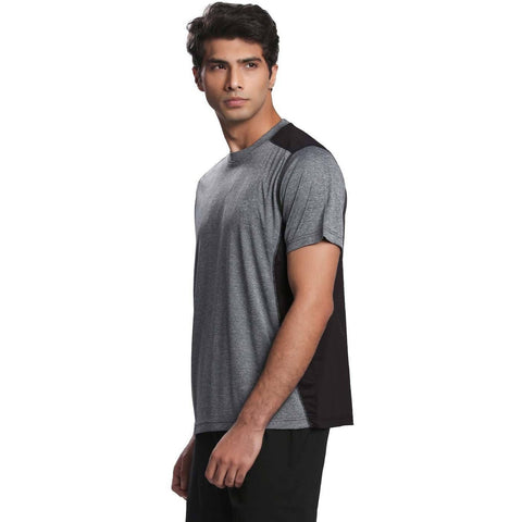 Men's Ventilated Melange T-Shirt-T-Shirt-Silvertraq-Silvertraq