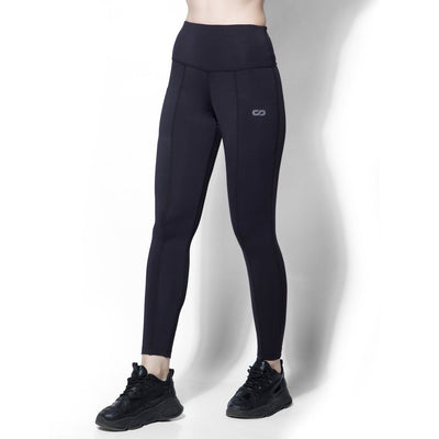 "Evolve Leggings Black-Leggings-Silvertraq-Black-XS - 24 - 26""-Silvertraq"