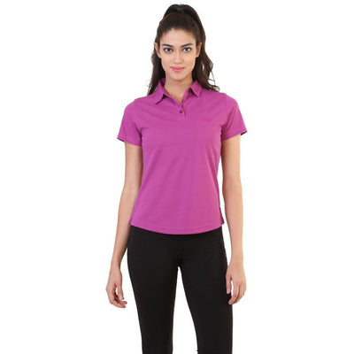 Silvertraq Women's Performance Polo Violet-Polo Shirt-Silvertraq-Violet-XS-Silvertraq