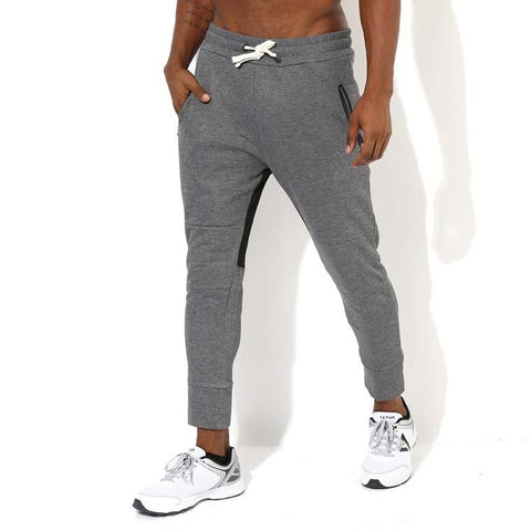 Men's Power Fleece Joggers-Joggers-Silvertraq-Charcoal Grey-S-Silvertraq