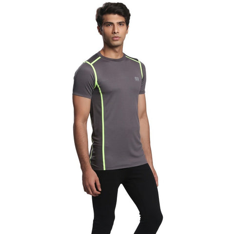 Silvertraq Fitted Athletic Body Mapping T-Shirt Stitchfree