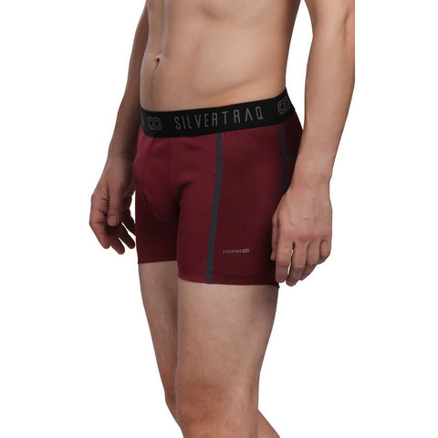 Men's Athletic Boxer Brief / Underwear. Sweat Wicking Anti Odor Underwear for Men. Gym, running, Training.