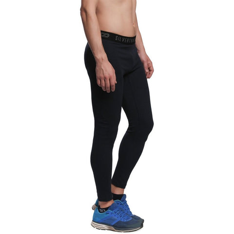 Silvertraq Men's Fitted Athletic Leggings-Leggings-Silvertraq-Anthracite-XS-Silvertraq