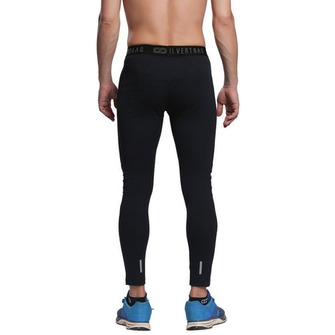 Silvertraq Men's Fitted Athletic Leggings-Leggings-Silvertraq-Silvertraq