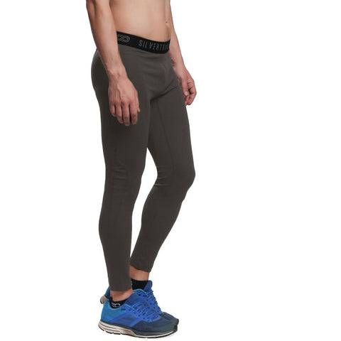 Silvertraq Men's Fitted Athletic Leggings-Leggings-Silvertraq-Olive-XS-Silvertraq