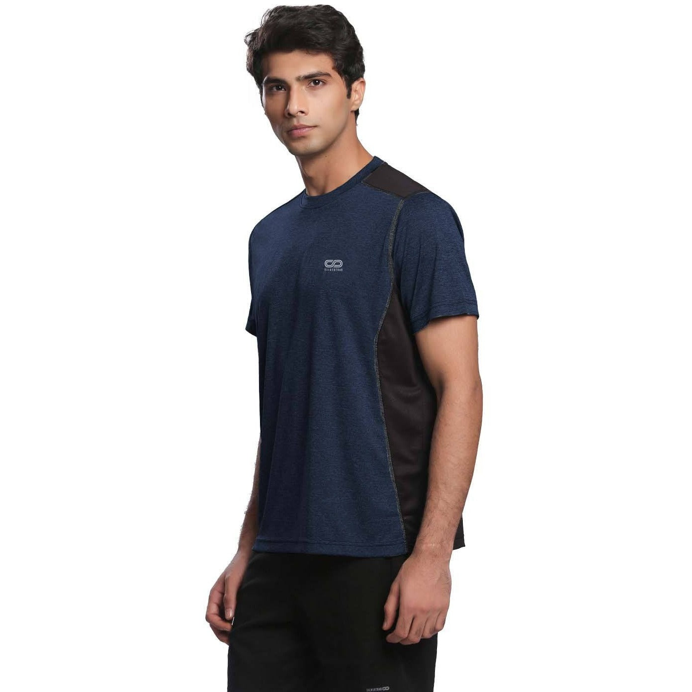 Men's Ventilated Melange T-Shirt