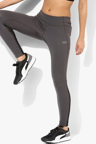 Silvertraq Performance Mesh Leggings Dark Grey-Leggings-Silvertraq-Silvertraq