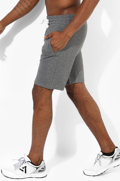 Men's Power Fleece Shorts-Shorts-Silvertraq-Silvertraq