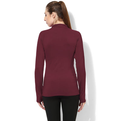 Silvertraq Women's Zip Neck Grip Tee