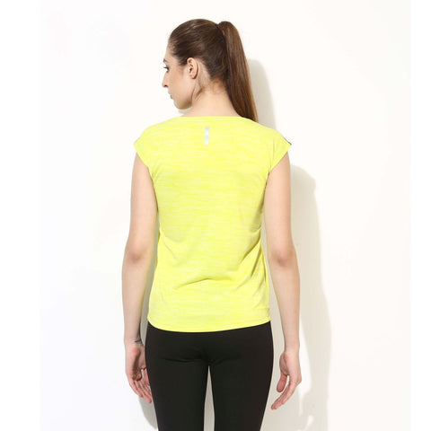 Silvertraq Women's Relax Fit T-Shirt Neon Yellow-T-Shirt-Silvertraq-Silvertraq