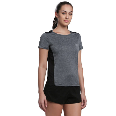 Women's Ventilated Melange T-Shirt