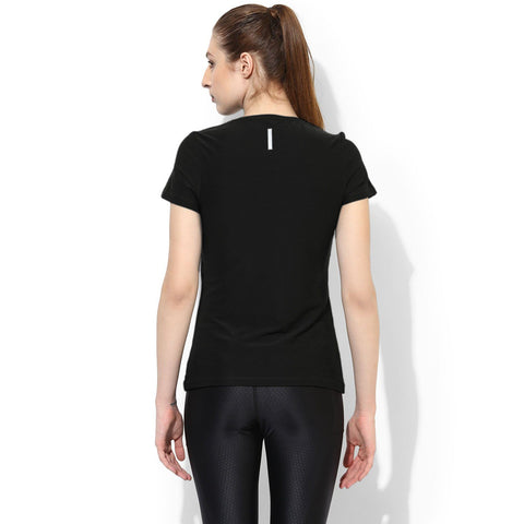 Silvertraq Women's V neck Solid T-Shirt