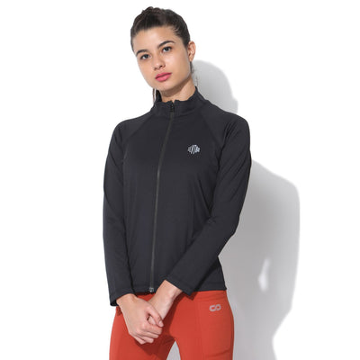 Cloud Track Jacket Black-Sports Jacket-Silvertraq-Silvertraq