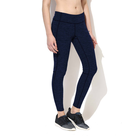 Women's Melange Track Leggings