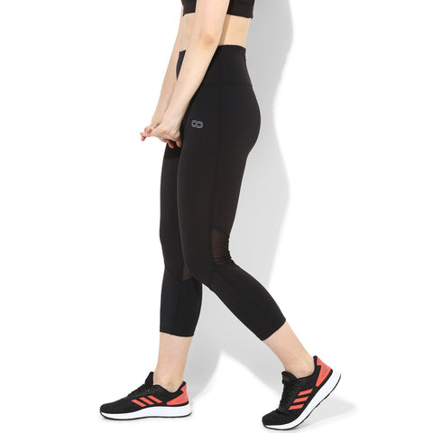 "Ath Perform 7/8 High Waist Leggings Black-Leggings-Silvertraq-Black-XS - 24 - 26""-Silvertraq"