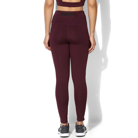 Ath Mesh Block Leggings Plum-Sports Leggings HWR-Silvertraq-Silvertraq